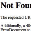 Erreur 404 personnalisable htaccess