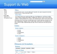 Kit graphique 12 - Bleu web 2.0