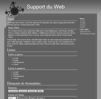 Kit graphique 20 - Design techno, abstrait, illusion web 2.0 noir gris blanc, techno, abstrait sobre web 2.0, noir, gris et blanc web 2.0 avec effets et transparence