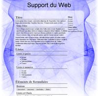 Kit graphique 21 - Design abstrait, illusion, bleu web 2.0 bleu et blanc, abstrait sobre web 2.0, bleu et blanc web 2.0 avec effets et transparence
