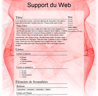 Kit graphique 22 - Design abstrait, illusion, rouge web 2.0 rouge et blanc, abstrait sobre web 2.0, rouge et blanc web 2.0 avec effets et transparence