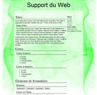 Kit graphique 23 - Design abstrait, illusion, vert web 2.0 vert et blanc, abstrait sobre web 2.0, vert et blanc web 2.0 avec effets et transparence