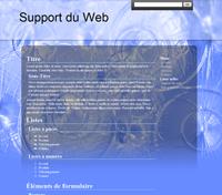 Kit graphique 03 - Bleu