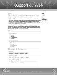 Kit graphique 31 - Design gris sobre web 2.0 gris et blanc, sobre web 2.0, gris et blanc web 2.0