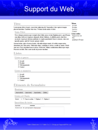 Kit graphique 32 - Design bleu sobre web 2.0 bleu et blanc, sobre web 2.0, bleu et blanc web 2.0