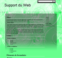 Kit graphique 04 - Vert