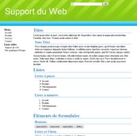 Kit graphique 05 - Vert et Bleu avec barres diagonales web 2.0