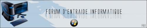 Forum d'Entraide Informatique (FEI)